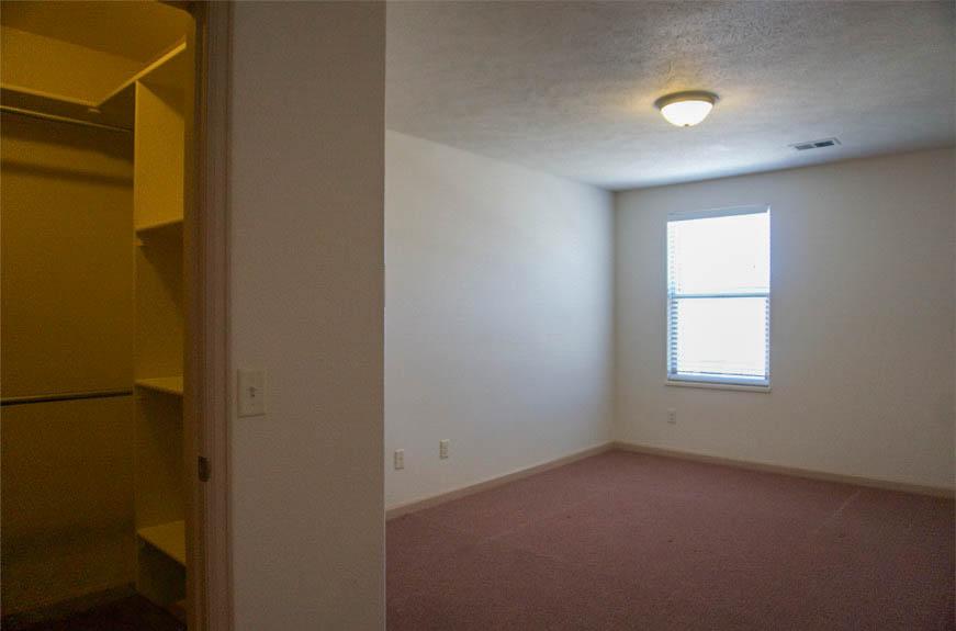 161 Sun Hawk upstairs bedroom with walk-in closet