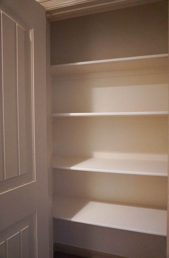 Linen Closet outside the Master