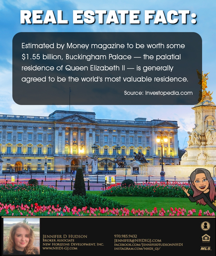 RE Facts: Buckingham Palace