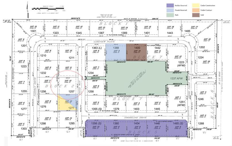 1257 Eagle Way is a vacant building lot in Adobe Falls Subdivision in Fruita, Colorado.