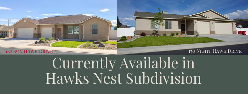 Homes currently available in Hawks Nest Subdivision