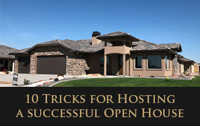 10 Tips For Hosting A Successful Open House!