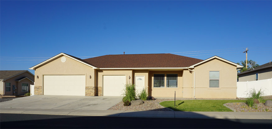 182 Sun Hawk Drive is a 3 bedroom, 2 bath home in Hawks Nest Subdivision in Grand Junction, CO.