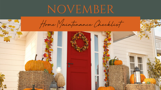 November Home Maintenance Checklist