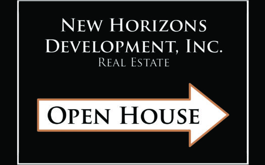 Open House - New horizons Development, Inc.