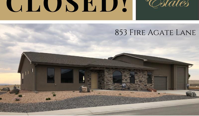 853 Fire Agate Lane has closed.