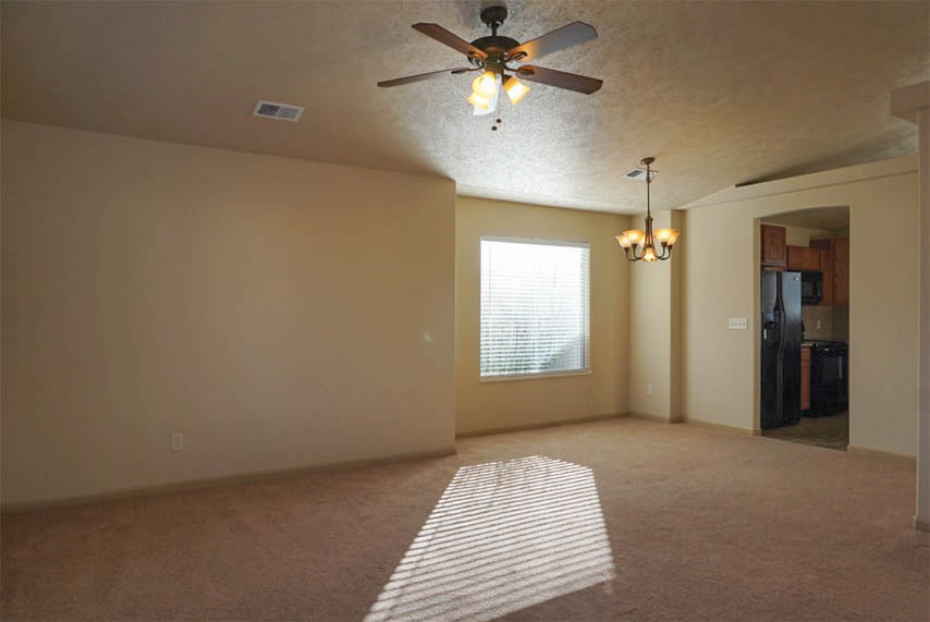 Living & dining room of 193 Sun Hawk Drive