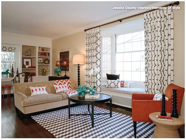 How to hang drapes and curtains