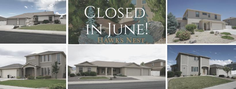 June Closings in Hawks Nest