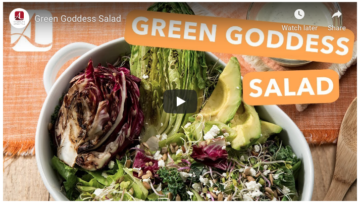 Grilled Green Goddess Salad Recipe