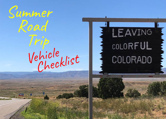 Summer Road Trip Vehicle Checklist - 10 things you need to do to your car before you head out of town!