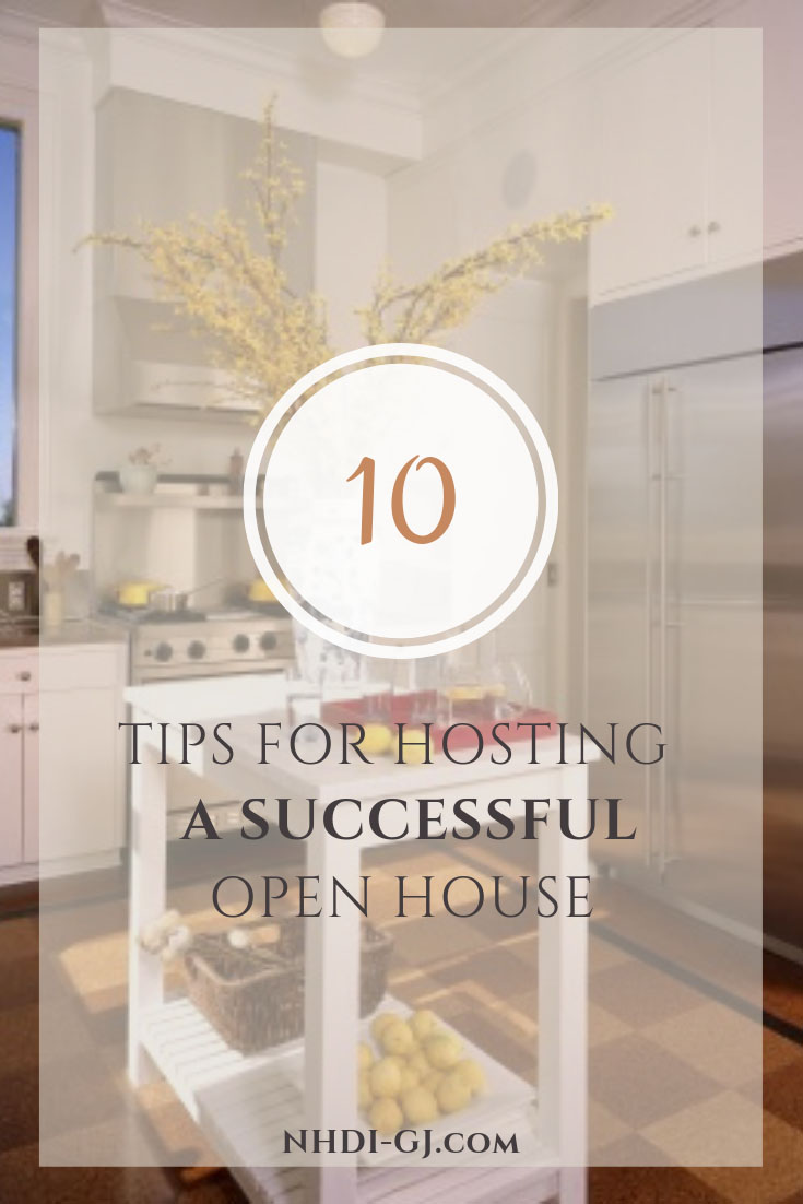 10 Tips for Hosting a Successful Open House