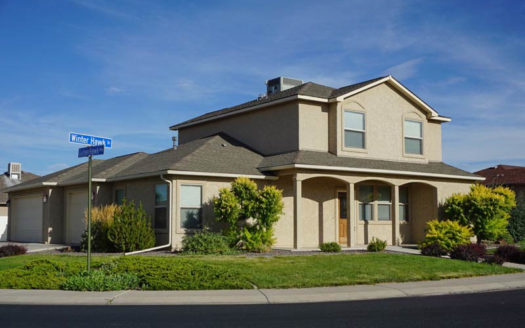 2995 Golden Hawk Way is a 4 bedroom, 2.5 bath home in Hawks Nest Subdivision in Grand Junction, CO