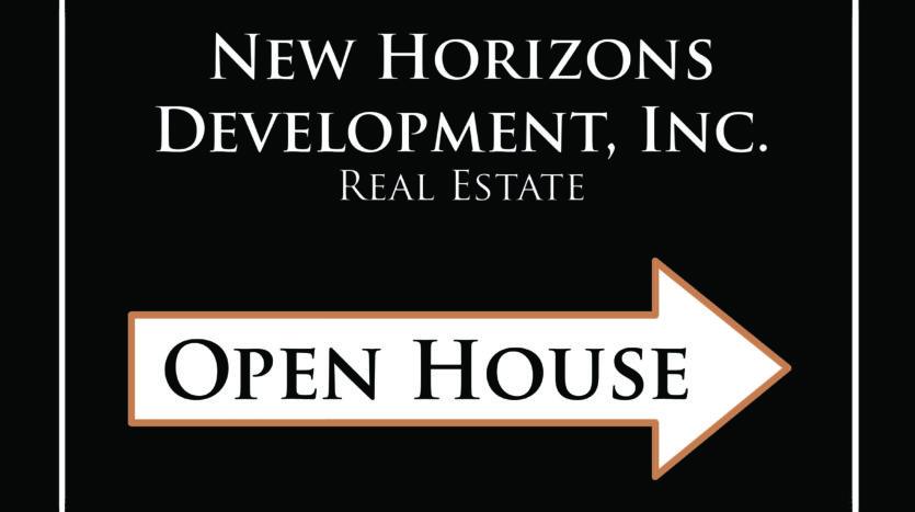 Open House - New horizons Development, Inc.